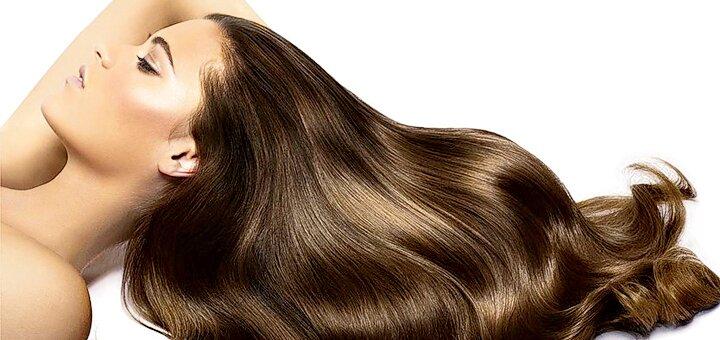 Холодный ботокс с реконструкцией волос от салона «SJ & Team»