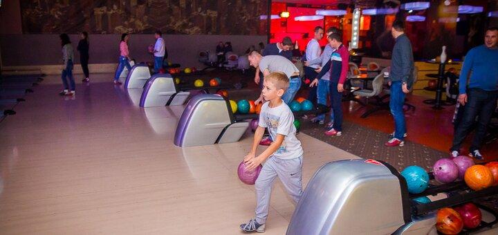 Скидка до 50% на игру в боулинг в развлекательном комплексе «City Bowling»