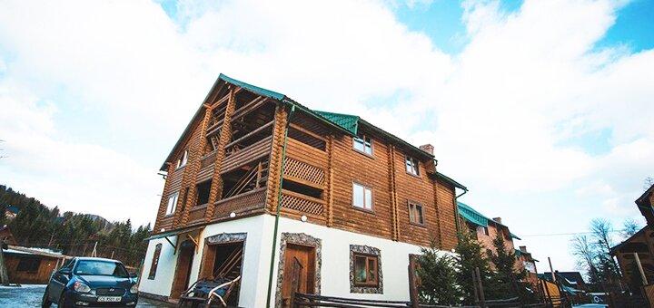 От 3 дней осеннего отдыха в отеле «Гірський Світанок» в Карпатах