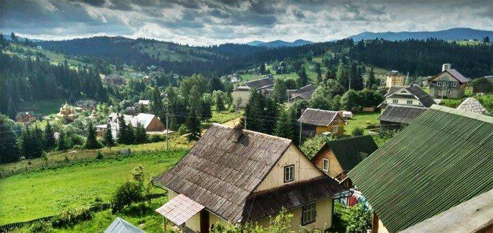 От 3 дней отдыха осенью и весной в усадьбе «Гуцульский край» в Карпатах