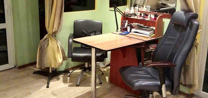 Аппаратный маникюр и педикюр с покрытием в салоне красоты «Гламур»