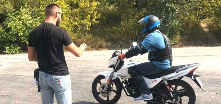 Пробное занятие или базовый курс вождения на мотоцикле от мотошколы «Kowabunga Crew»