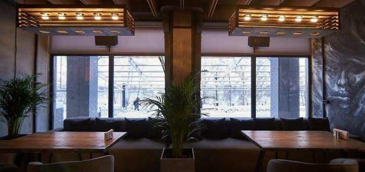 Скидка 50% на все меню кухни в «Soda Restaurant&Bar»