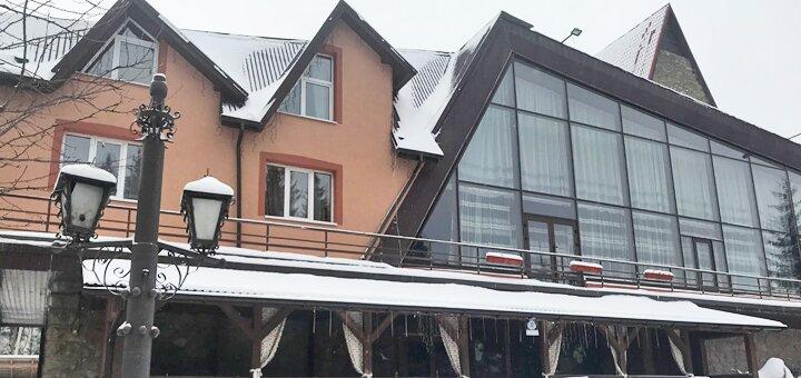От 3 дней отдыха осенью и зимой в гостинично-ресторанном комплексе «Беркут. Перевал» в Яблунице