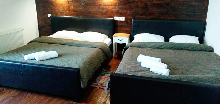 От 2 дней отдыха возле термальных источников с завтраками в отеле «Край Неба» в Берегово