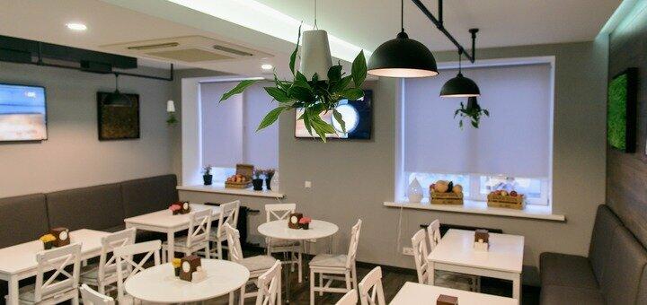 Сертификат на все меню кухни и бара для компании в ресторане итальянской кухни «Al-dente»