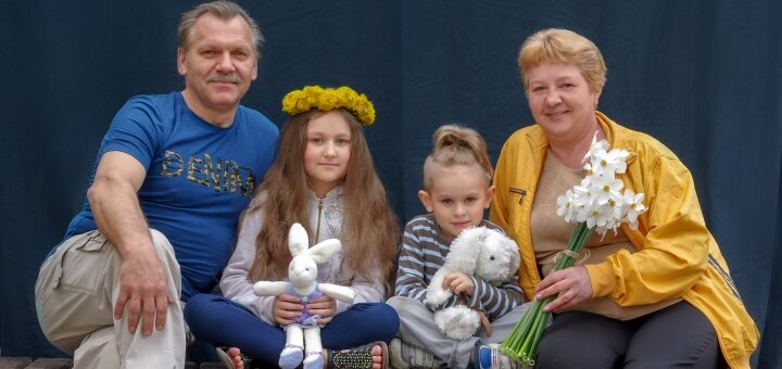 Семейная или дружеская фотосессия от профессионального фотографа Елены Павловой