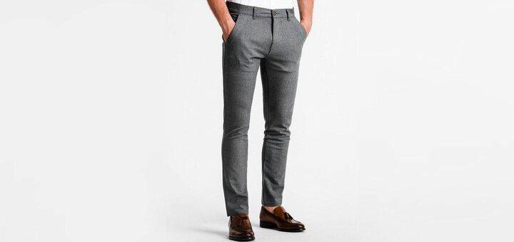 Скидки до 25% на джинсы и брюки от «Ombre»