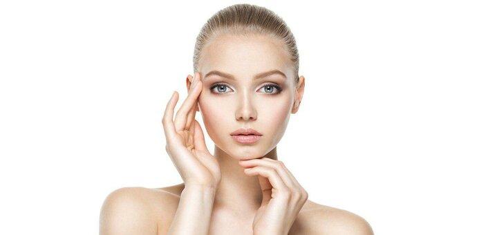 До 3 сеансов ультразвуковой или комбинированной чистки лица с пилингом от Яны Дмитриевой