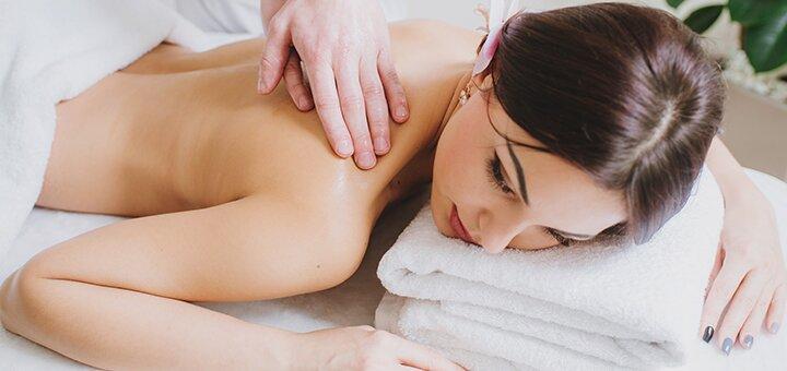 До 5 сеансов лечебного массажа спины или шейно-воротниковой зоны в студии «Beauty Club Baldini»