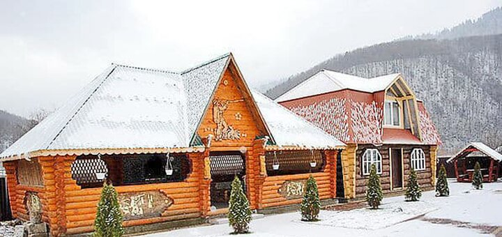 От 3 дней отдыха зимой в отеле «Трембита» в Межгорье