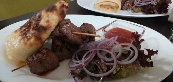 Скидка 50% на меню кухни в кафе «Таргим»