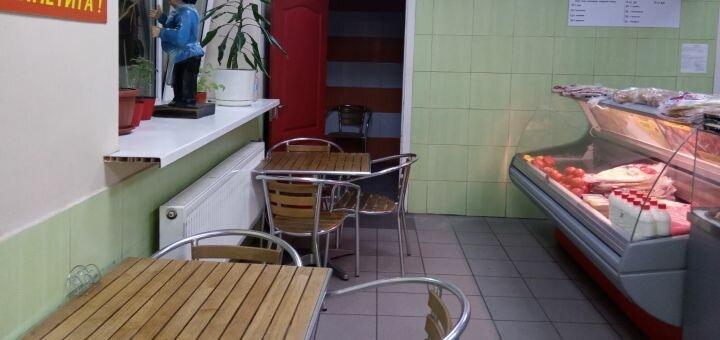 Скидка 50% на меню кухни в кафе «MANKOUCHE»
