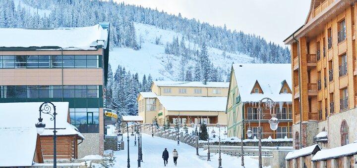 От 3 дней зимнего отдыха с завтраками в горнолыжном комплексе «Плай» в Плае