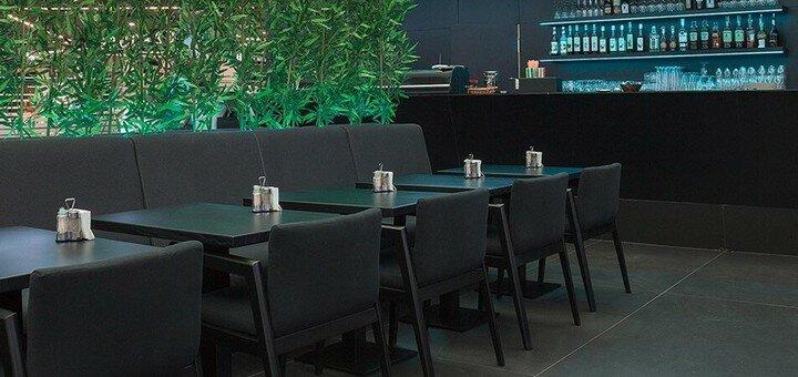 Скидка 50% на все меню кухни на вынос в ресторане «Атриум»