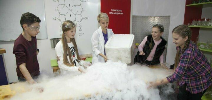 Скидка 40% на входной билет в музей «Экспериментаниум» и посещение химического «Реактив шоу»