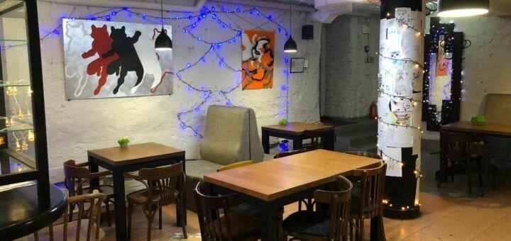 Скидка до 50% на напитки, десерты, выпечку и сэндвичи в кофейне «ЕНОТ coffee»